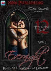 Evernight Anthology featuring T. A. Grey's short story The Vampire's Mate