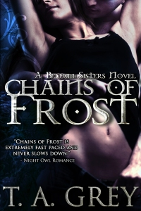 Chains of Frost by paranormal erotica author T. A. Grey