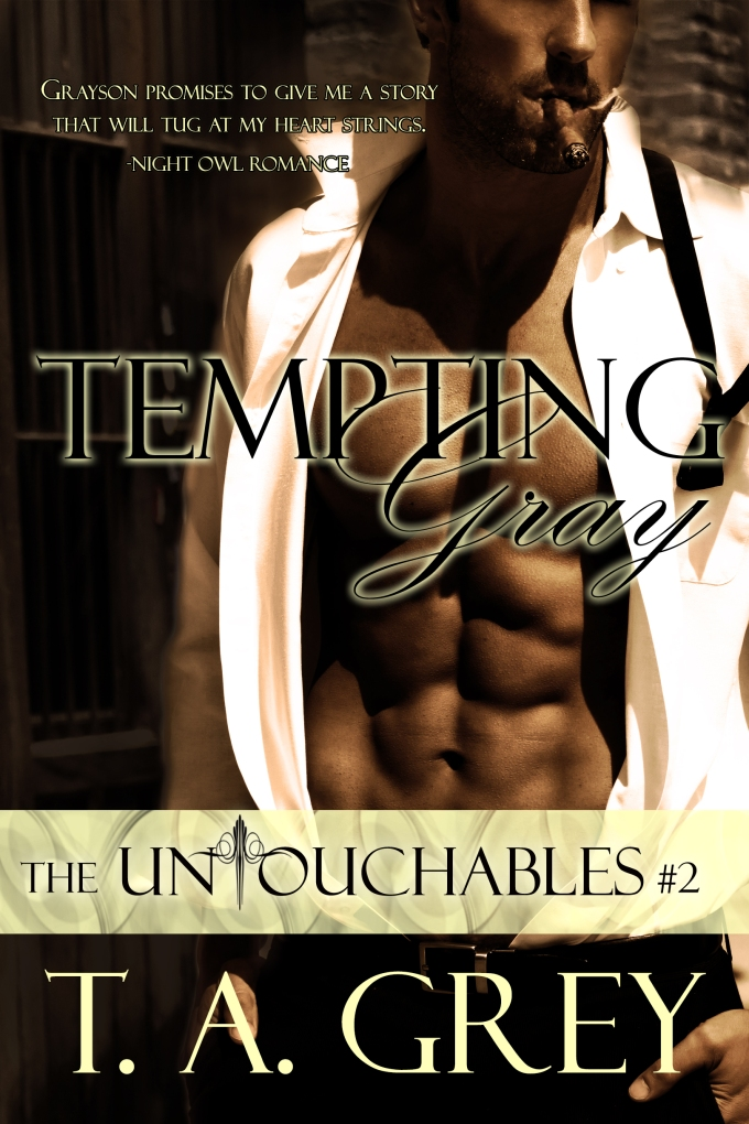 Tempting Gray by T. A. Grey erotic romance author